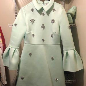 Mint Green Tea Dress